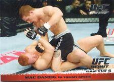 2009 TOPPS UFC ROUND 1 DEBUT  ROOKIE RC MAC DANZIG #75