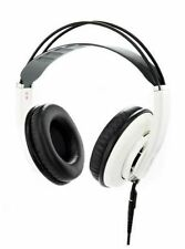 Superlux Studio Headphones Hd681evo Over The Ear Semi Open Professional Monitor White
