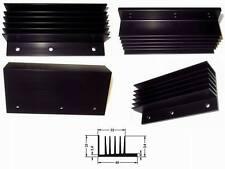 SK 107 Strangkühlkörper Schwarz eloxiert L:100 B:46 mm 1 Stück
