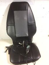 Homedics Shiatsu Massager Black Leather Seat Remote Control