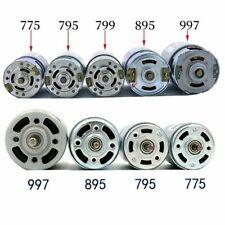 997 Large Torque High Speed DC Motor 12~48V Ball Bearing Low Noise &Bracket