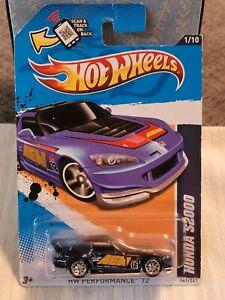 Hot Wheels 2012 Super T-Hunt Honda S2000 Carded 1/64
