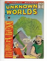 Unknown Worlds 11 (4.5) 11/61 Charlton! Last 10 Cent issue!