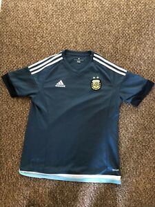 Argentina 2015/2017 Away Football Shirt Adidas Climacool Size M