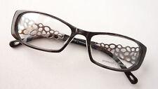 Occhiali Occhiali Montatura TELAIO design STAFFA ANTRACITE forma sottile LUSSO SIZE M