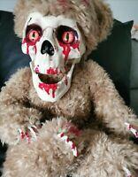 Terrifyingly Creepy OOAK Artist  Zombie Teddy Bear
