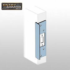 """Latch Protector By Entry Armor - T-style 6"""" x 1-3/4"""" Aluminum - Secure Your Door"""