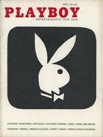 PLAYBOY APRIL 1956 Bunny Logo in Black & White (1st appearance) Rusty Fisher (4)