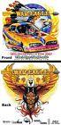 Dale Pulde Hall of Fame War Eagle Graphic MEN'S Tee