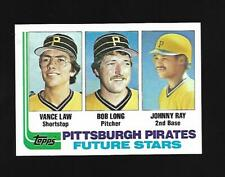 1982 Topps #291 Pittsburg Pirates Future Pirates Future Stars Law/Ray/Long EX-NM