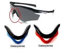 Galaxy Nose Pads Rubber Kits For Oakley M2 Frame Sunglasses Blue/Red