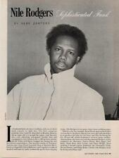 Nile Rodgers Chic Downbeat Clipping