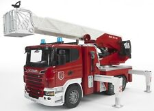 Bruder Scania R-series Fire Engine w/ Water Pump & Light and Sound Module 03590