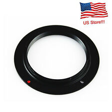 Black Aluminum M42 Screw Lens Mount Adapter Ring For Canon EOS EF Camera US