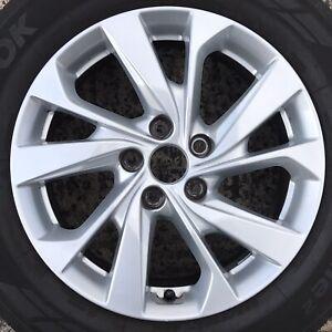 "1 Genuine Hyundai Tucson 17"" Alloy Wheel 10 Spoke Rim 7j 52910-D7220 Tyre 225 60"