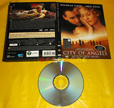 CITY OF ANGELS (Nocolas Cage Meg Ryan) - Dvd Edizione Snapper ○ USATO