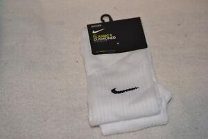 Nike Classic II Cushioned Soccer Socks OTC Medium White SX5728-100