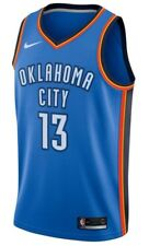 Nike Oklahoma City Thunder George #13  Dri-FIT Swingman Jersey Small CS082 AA 07
