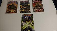 1998 Chaos comics DEAD KING:BURNT #1 2 3 & EVil Ernie Comic Book LOT
