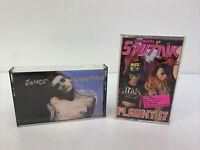Lot Of 2 - VINTAGE Cassette Tapes - Janes Addiction And Sigue Sigue Sputnik