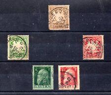 Baviera Valores del año 1888-911 (BP-285)
