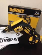 DeWalt DCF620N 18v Brushless Drywall Screwdriver Bare Unit - UK/EU WARRANTY!