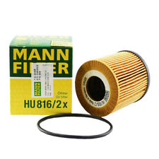 MANN Oil FIlter HU816x For BMW 07-17 1,3,5,6,7,X1,X3,X5,X6,Z4 see fitment below