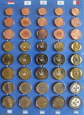 5 Kursmünzensätze Euro KMS 2007/08 (Niederlande, Zypern, Malta) -075-