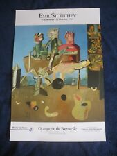 affiche EMIL STOITCHEV 1993 ART  poster  original