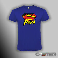 Camiseta superpapa super papa abuelo dia padre regalo  (ENVIO 24/48h)