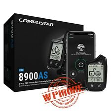 Compustar CSX8900-AS All-in-One 2-Way LTE Module + Remote Start Security Bundle