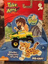 Learning Curve Go Diego Go Monster Truck Toy Retired NEW #28006