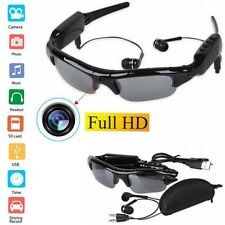 Spy Sunglasses HD Hidden DVR Camera Video Recorder Audio Mp3 Player TF Eyewear