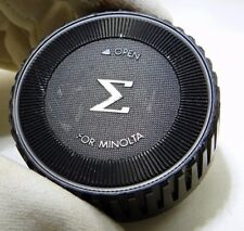Sigma Rear Lens Cap for Minolta-MD MC SR - free shipping worldwide