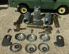 Land Rover Series 2 2a 3 Complete Vehicle Door Barrel Lock & Key Set x3 320609