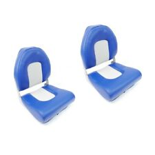 Boat Chair Folding Seat Adjustable Seat 6 Adjustment Angles Camping Boat Blue