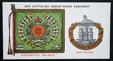 Dorsetshire Regiment     Original 1930 Vintage Card