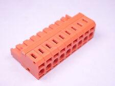 BLZF 5.08/9 SN OR Weidmuller PCB Terminal Block 9Pos 5.08mm 167998