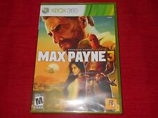 MAX PAYNE 3 XBOX 360 FACTORY SEALED C@@L!!!  FAST FREE SHIPPING!!!  MUST L@@K!!!
