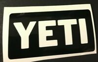 Yeti Decal Sticker 2 Lot