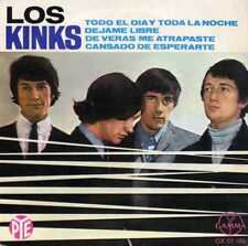 "KINKS ""ALL DAY AND ALL OF THE NIGHT"" ORIG MEX EP 1967 VG++/VG++"