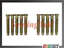 NEW (10 pcs) Extended Length Wheel Studs fit 5-lug wheels Honda Acura M12x1.5 RH