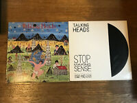 Talking Heads 2 LP Lot - Little Creatures & Stop Making Sense