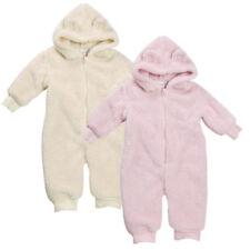 Abrigos y trajes de nieve de poliéster para niñas de 0 a 24 meses