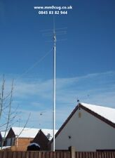 ALUMNIUM 12M WALL MOUNT ANTENNA MASTS. CCTV, LIGHTING WIND SURVEY