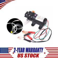 Car Boat Dc 12V Oil Extractor Scavenge Suction Vacuum Transfer Change Pump 5L Us
