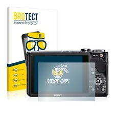 6x protector de pantalla Sony Cyber-shot dsc-hx20v lámina protectora diapositiva protector de pantalla