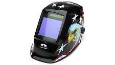 PYRAMEX WHAM3030AE AUTO DARKENING Digital Welding Hood AMERICAN EAGLE DESIGN