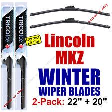 WINTER Wiper Blades 2-Pack Premium - fit 2013+ Lincoln MKZ - 35220/35200