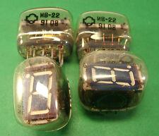 12x IV-22 VFD Nixie Clock IV22 Big 7 Segment VFD USSR NOS tube